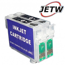 Kit 2 Cartucho Recarregável K101 K100 K200 K300 K301 Reset