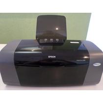 Impressora Epson C67 + 16 Cartuchos Grátis Precisa Reparo