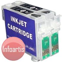 Kit 2 Cartucho Recarregável K101 K100 K200 K300 K301 T136126
