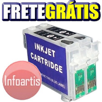 Kit 2 Cartucho Recarregável K101 K100 K200 K301 Frete Grátis