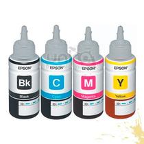 Refil Tinta Original Epson P/ Impressora L200 L355 L220 L800
