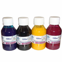 Tinta Sublimatica Para Transfer Mizink 400ml Kit 4 Cores