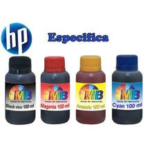 Kit De Tintas Específica Para Recarga Cartucho Impressora Hp
