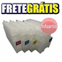 Cartucho Recarregável Hp Plotter T520 T120 711 Frete Grátis