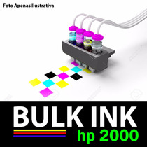 Sistema Tanque De Tinta P/ Impressora Multifuncional Hp 2000