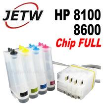 Bulk Ink Hp Pro 8100 8600 Com Chip Full Reset 950 951 Eaio