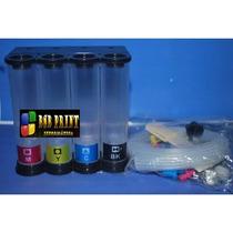 Bulk Ink Hp 4615, 4625 Advantage + 400 Ml De Tinta