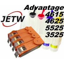 Bulk-ink Hp 4615 4625 3525 5525 Advantage + Chip