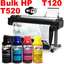 Bulk Ink Hp Designjet Plotter T520 T120 36 24 Hp 711 Tinta