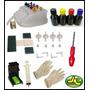 Kit Bulk Ink Hp C/ Snap Fill + 400ml Tintas + Completo