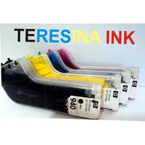 Bulk Ink Para Hp Officejet Pro 8000/8500 + Tinta Pigmentada