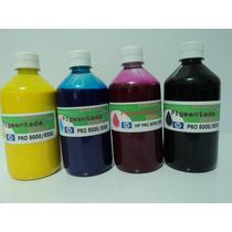 Tinta Pigmentada Para Impressora Hp Pro 8000/8500/8100 500ml