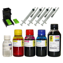Kit Tinta Formulabs Recarga Cartuchos Hp Canon + Snap Fill