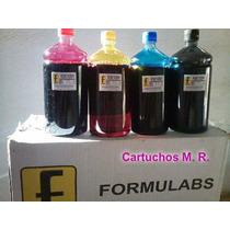 Kit 4 Litros Tinta Recarga Cartucho Impressora Hp 122 662 60