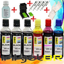 Kit 1600 Tinta Recarga Cartucho Hp Snap 662 122 901 74 60 Xl