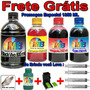 Kit Tinta Recarga Cartucho Hp + Snap 662 122 901 74 60 Xl