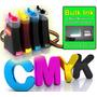 Novo Kit Bulk Ink Hp F2480 - Único Com Presilhas Especiais!