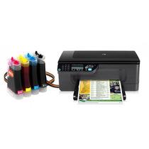 Bulk Ink Para Impressora Hp J4500 Com Presilhas Especiais
