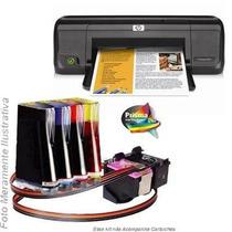 Bulk Ink Para Impressora Hp D1660 Com Presilhas Especiais