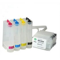 Bulk Ink Hp Pro 8100 8600 276 251 Dw C/ Cartuchos E Chip