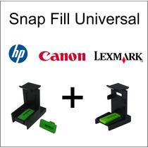 Snap Fill Universal Para Hp Canon Lexmark Profissional 2un.