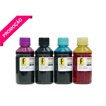 4 Litros Tinta Recarga Cartucho Impressora Hp