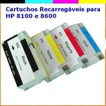 Cartucho Hp Recarregavel 8100 8600 8610 8620 - Ultima Versao