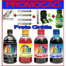 Kit Promoção Tinta Recarga Cartuchos Impressora Hp + Snap