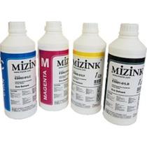 4 Litros Tinta Mizink Corante Para Hp Pro 8100 E 8600