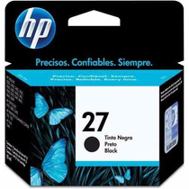 Cartucho Hp 27 C8727ab Preto Original 1215 1310 1315 3420