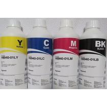 4 Tintas 250ml Pigmentada Hp Inktec Pro8100 8600 8610 8620