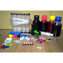 Bulk Ink Acr C 240mls Tintas Hp Photosmart C4640 C4650 C4680