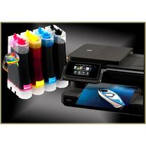 Bulk P/ Impressora Hp + Tintas + Video De Instalação + Frete
