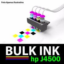 Bulk Ink Hp 4500 + 120ml De Tinta Alemã De Alta Qualidade.