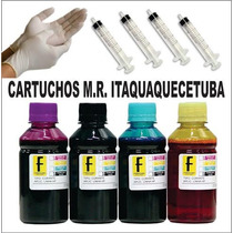 Kit Tinta P/ Cartucho Hp 61 662 60 901 75 22 57 93 400ml