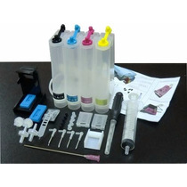 Bulk Ink Para Impressora Hp Deskjet D1360 P/ Cartuchos 21 22