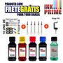 400ml Kit Tinta Pra Impressora Hp + Snap+solução+fretegratis