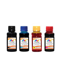 Kit 4 Tinta Para Cartucho Hp 21 27 56 F4180 2510 1315 100ml