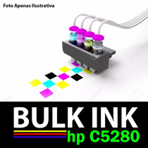 Sistema Tanque D Tinta P/ Impressora Multifuncional Hp C5280