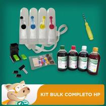 Bulk Ink P/ Hp,canon,lex 2 Litros Tintas+acessórios+empresa