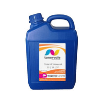 Tinta Para Hp 22 28 57 F4180 2510 1315 J3680 Magenta 5l