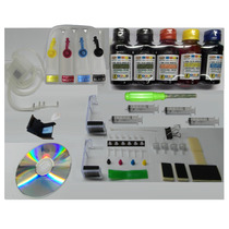 Bulk Ink Kit Montado P/ Hp 1516 2546 3516 4646 662 Completo