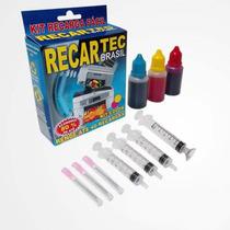 Kit Recarga De Cartuchos Economico Fácil Preto Ou Colorido