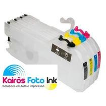 Bulk Ink, Cartuchão Impressoras- Brother Dcp J140w, Dcp J125