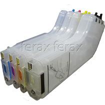 Kit Cartucho Maxcombo Com Chip Full K8600 K550 K5400 I7780