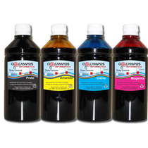 Tinta Brother Corante - Kit 4000 - 4 Cores - 1 Litro De Cada