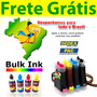Bulk Ink Hp C5580 + Tinta Alemã + Presilha Especial + Frete!