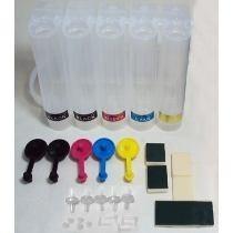 10 Reservatório 4 Cores Modelo Tanque Bulk Ink P/ Impressões