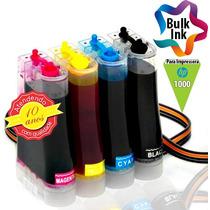 Bulk Ink Hp Para Deskjet 1000 + 120ml De Tinta Alemã