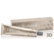 Tinta Evolution Color Of Cube 3d 60ml Da Alfaparf Cor Azul